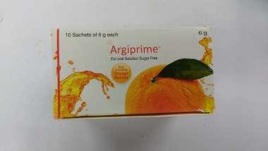 ARGIPRIME FOR ORAL SOLUTION SUGAR FREE ORANGE