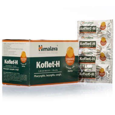 HIMALAYA KOFLET -H LOZENGES ORANGE