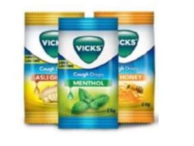 VICKS COUGH DROPS