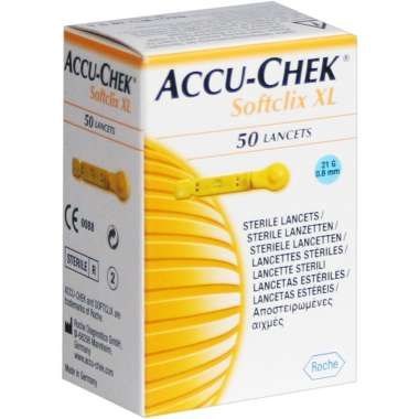 ACCU-CHEK SOFTCLIX XL LANCETS