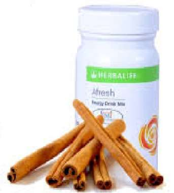 HERBALIFE AFRESH ENERGY DRINK MIX CINNAMON