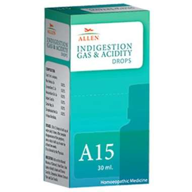A15 INDIGESTION GAS & ACIDITY DROP