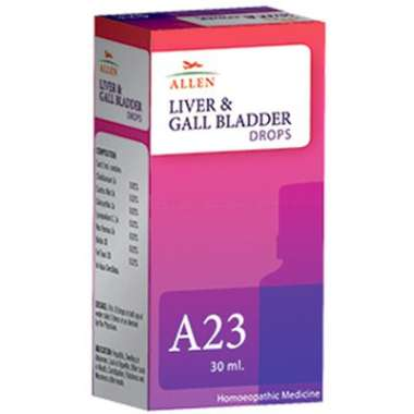 A23 LIVER AND GALL BLADDER DROP