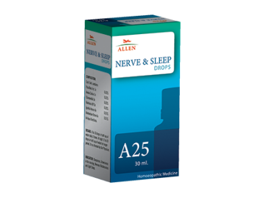A25 NERVE AND SLEEP DROP