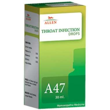 A47 THROAT INFECTION DROP