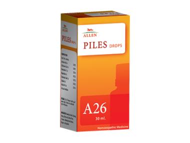 A26 PILES DROP