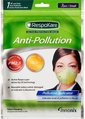 RESPOKARE ANTI-POLLUTION MASK - SET OF 3 MASK (SMALL)