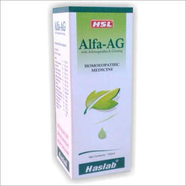 ALFA-AG (WITH ASHWAGANDHA & GINSENG) TONIC