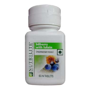 AMWAY NUTRILITE BILBERRY WITH LUTEIN TABLET
