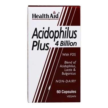HEALTHAID ACIDOPHILUS PLUS 4 BILLION CAPSULE