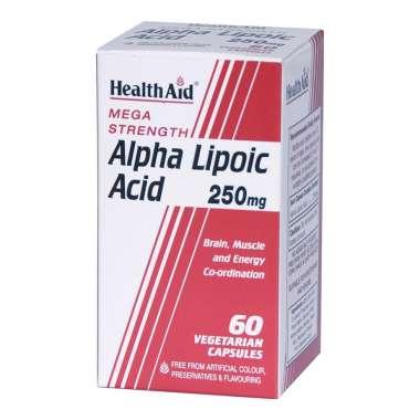 HEALTHAID ALPHA LIPOIC ACID 250MG CAPSULE