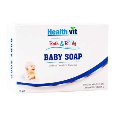 HEALTHVIT BATH & BODY BABY SOAP